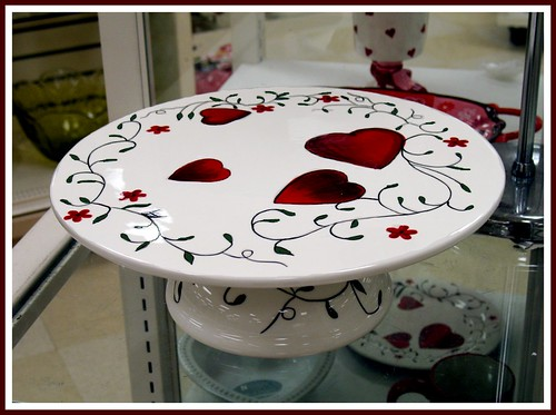 White Ceramic Cake Stand Set