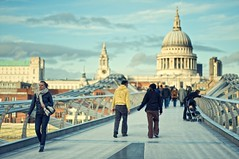 Millenium Bridge | by The Wolf