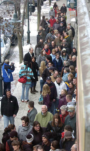 Crowd on Front St in Traverse City | by tcfilmfest