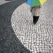 her umbrella