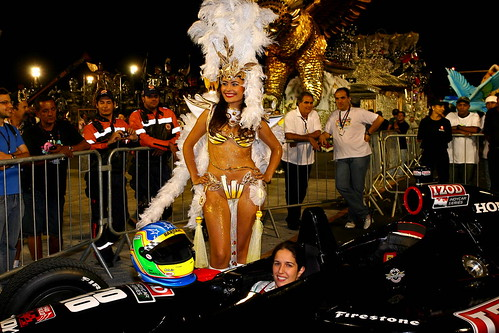 Ana Beatriz + Carnival Queen | by IndyCar Series