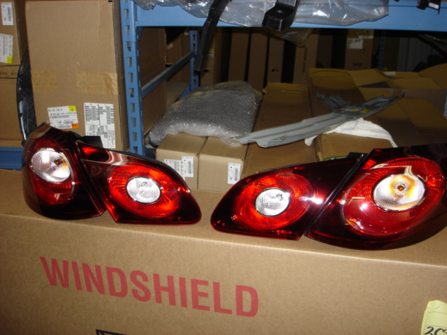 Vw Passat Cc R Line Smoked Tail Lights Pre Installation