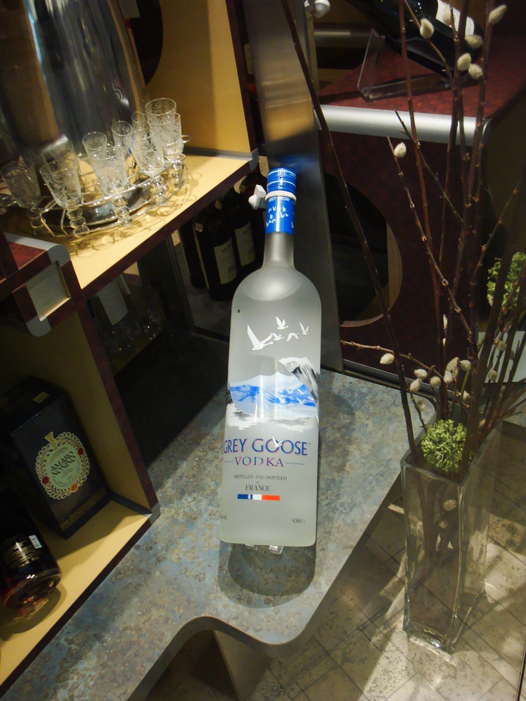 4 5 liters of grey goose i didn 39 t see the price but i dro flickr. Black Bedroom Furniture Sets. Home Design Ideas