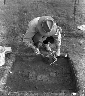Historical archaeology at Champoeg State Park, Oregon (USA) 1975 | by gbaku
