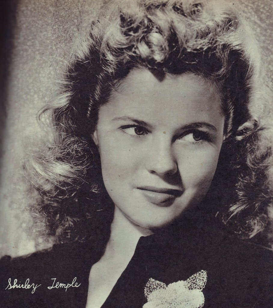 Shirley Temple at 17 | A very lovely Shirley as a teenager ...