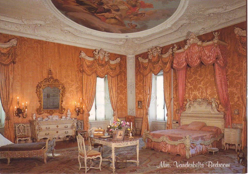 Mrs Vanderbilts Bedroom In Marble House Newport Rhode Flickr