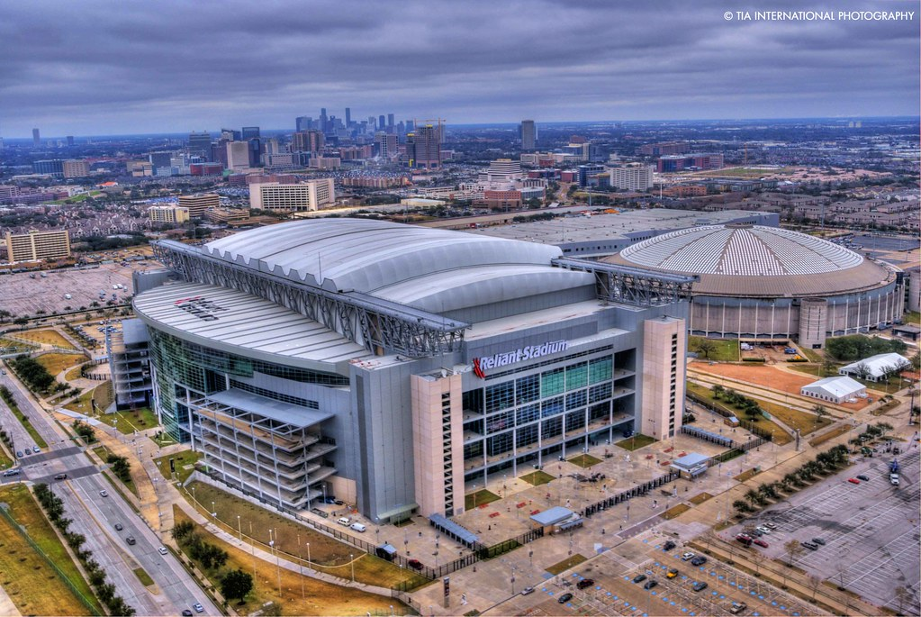 Reliant Stadium Amp Astrodome These Two Arenas Make Up What Flickr