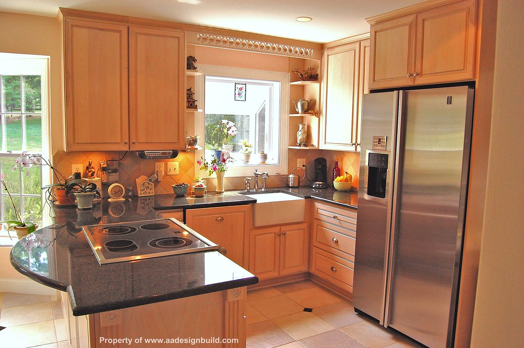 Custom kitchen design and remodeling for Kitchen ideas no window