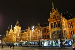 Amsterdam Centraal Station | by ednl