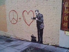 banksy | by caughtyouhoney