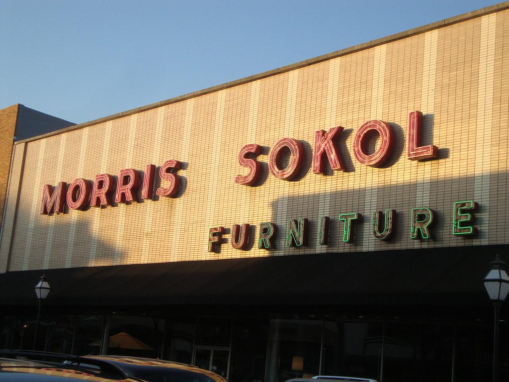 ... Morris Sokol Furniture Sign | By C Bunny
