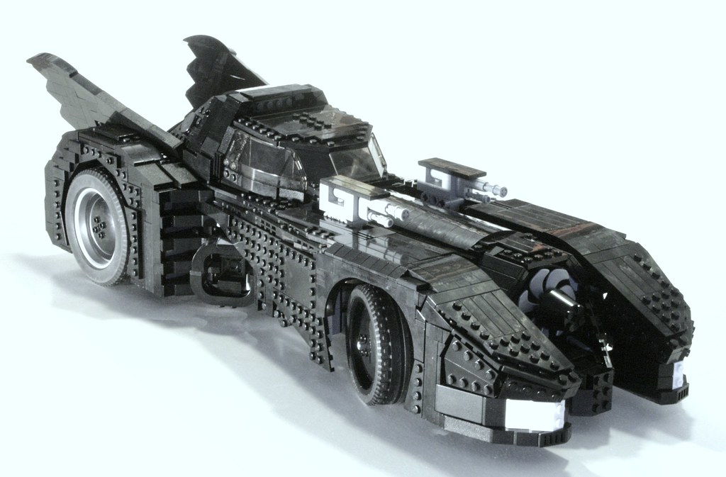 Lego Batman Car Printable Coloring Pages