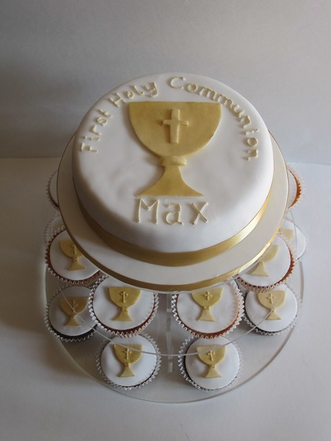 Holy communion chalice cake first holy communion chalice c