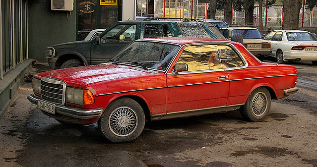 Mercedes Benz W123 Coupe Tbilisi Georgia Vaniko Goliadze Flickr