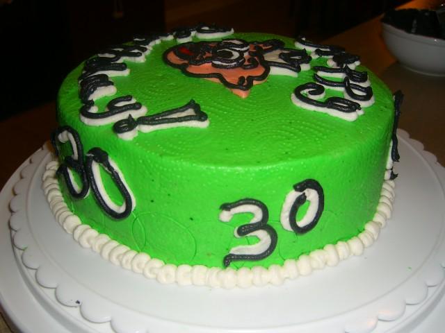 Wondrous Piggly Wiggly 30Th Cake Heavenlycakedreamer Flickr Personalised Birthday Cards Vishlily Jamesorg