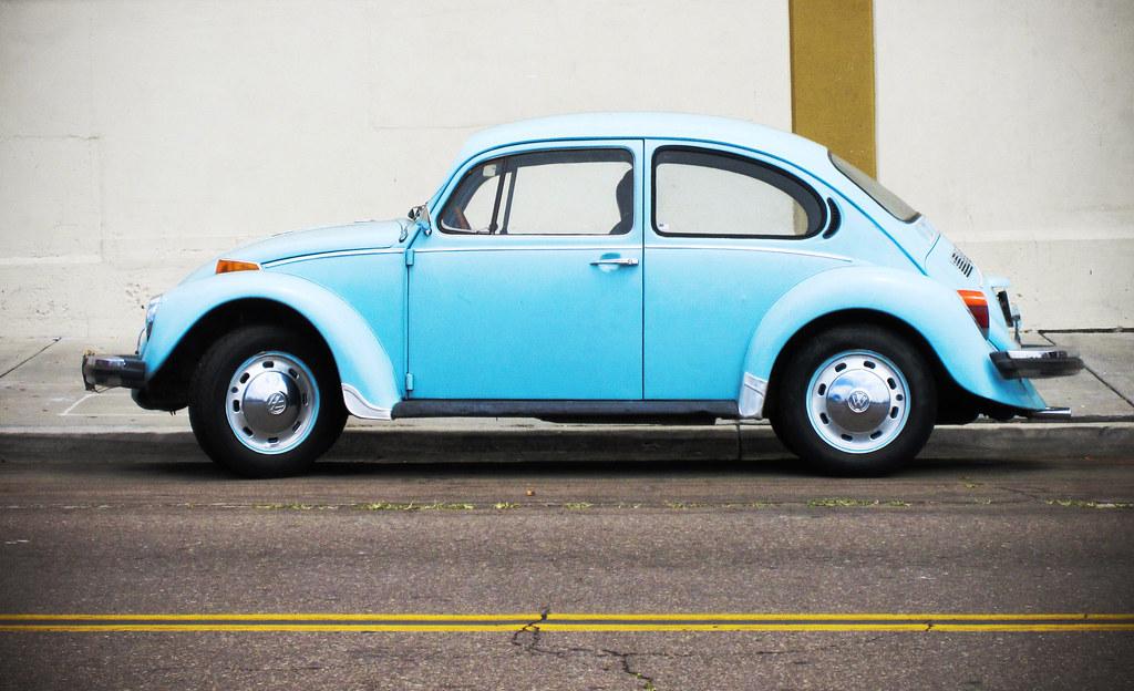 volkswagen beetle a light blue volkswagen beetle taken in flickr. Black Bedroom Furniture Sets. Home Design Ideas