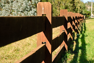 Fence in Gisborne South | by Ryk Neethling