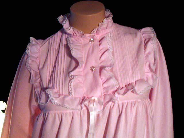 Brushed Nylon Nightgowns 10