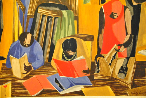Jacob Lawrence | by angela n.