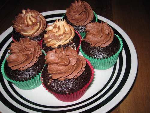 Vegan Chocolate and Peanut Butter Cupcakes by Sweet Vegan Dublin | by veganbackpacker