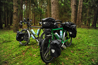 Our Bikes in a German Forest | by goingslowly