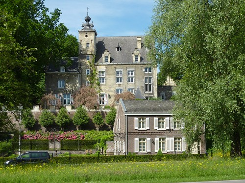 Photo: house/residence of cute friendly intelligent  40 million earning Maastricht, the Netherlands-resident