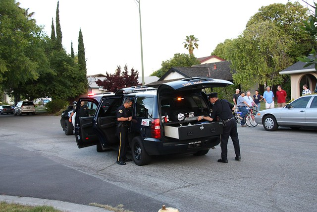 San Jose Shooting Crime Scene June 3rd