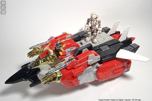 Superhuman Samurai Syber Squad Dx Drago Akum6n Flickr