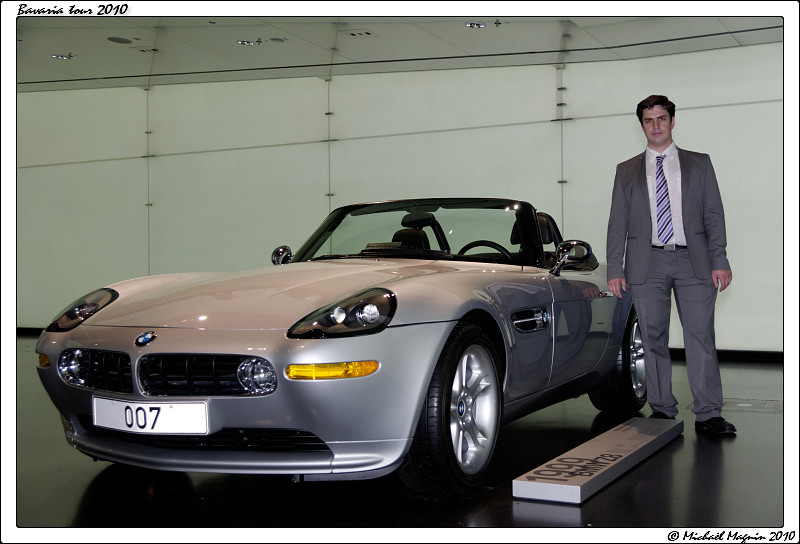 Bmw Z8 James Bond 007 Bmw Museum Micha 235 L Pour