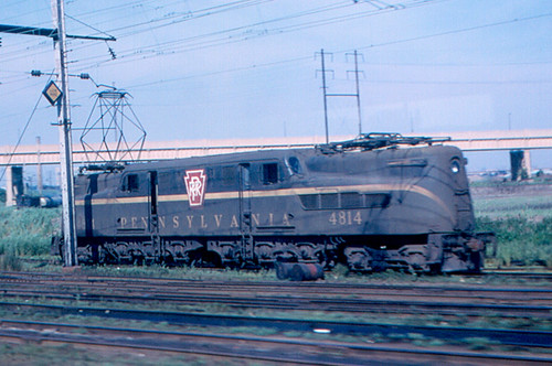Newark Pennsylvania Railroad Gg1 Locomotive A