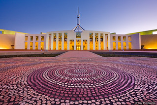 Parliament House, Canberra, Australia | by -yury-