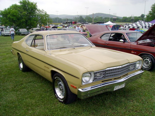 1974 Plymouth Gold Duster 27th Annual Mid Atlantic Mopar