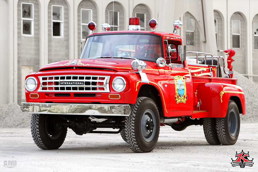Crystal Lake Dodge >> Vintage International Fire Truck   Vintage International Fir…   Flickr