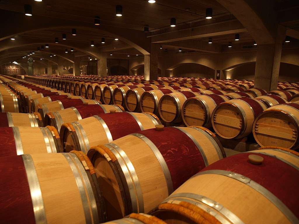 oak wine barrels. jpg by munna oak wine barrels robert mondavi winery pa167115jpg
