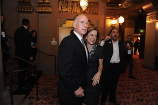 Jerry and Anne Inside the Fox | by California Governor Jerry Brown