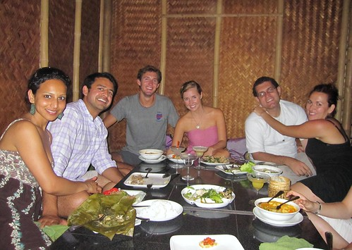 Eating Dinner at Coolest Resto in Laos - with Sne, Nivan, and Billy Zane | by FollowOurFootsteps
