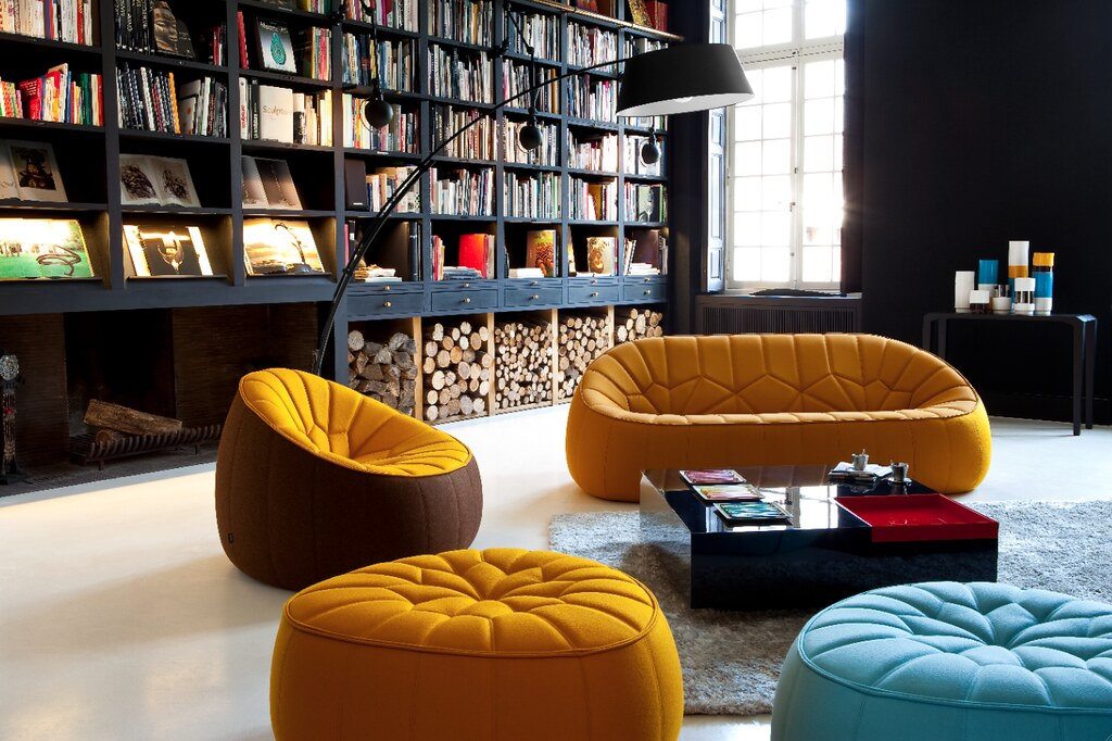ottoman ligne roset flickr. Black Bedroom Furniture Sets. Home Design Ideas