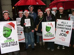 Labour Youth post-budget protest | by Labour Youth ~ Óige an Lucht Oibre