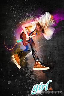 Girl Converse Design - Girl Converse Designer - Photoshop cool backgrounds | by Explore beautiful Digital art / Graphics
