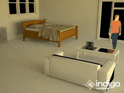 Upload Image On Google >> In the room1 sketchup6 + indigo render | In the room1 sketch… | Flickr