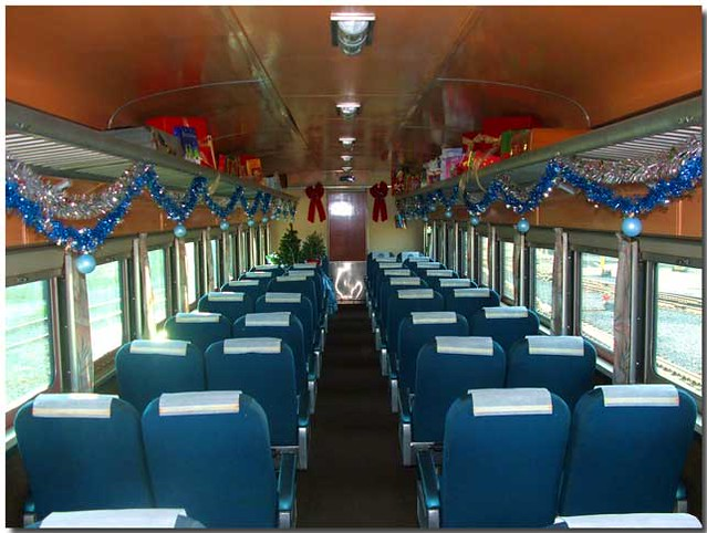 private rail car amber trail coach at christmas flickr. Black Bedroom Furniture Sets. Home Design Ideas