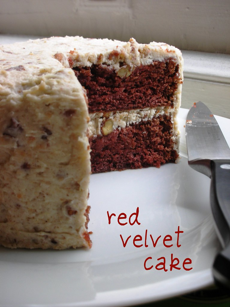 Red Velvet Cake By Karen