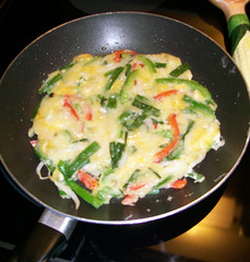 Andrew Fraser's vegetable pancake | by maangchi