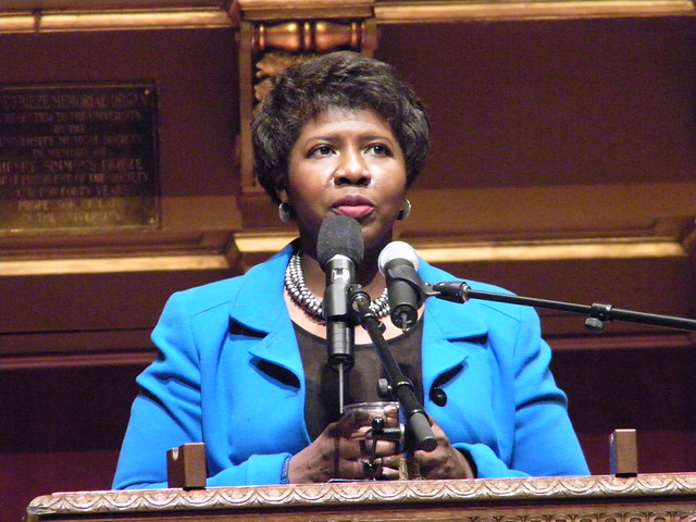 Gwen Ifill Delivering the Keynote Address for the MLK Symposium at the
