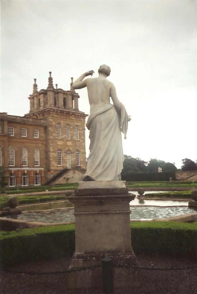 Blenheim Palace Statue 1993 Scans Of My Really Old