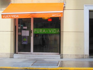 Pura Vida Juice Bar | by veganbackpacker
