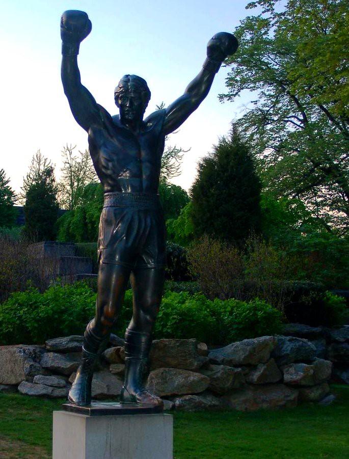 Statue Rocky Balboa (Philadelphia)   (Robert) Rocky Balboa ...