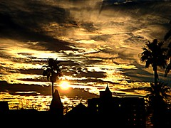 Tropical sunset by lutzm@n.........