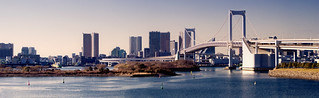 Rainbow Bridge Panorama (Tokyo Bay ) | by Alex Carbune