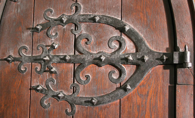 Wrought Iron Door Hardware St John Chrysostom Church De